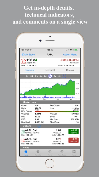 Stocks Pro : Real-time stock screenshot-1