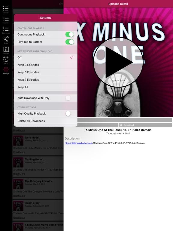 X Minus One - Old Time Radio App-ipad-2