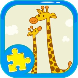 Animals Puzzle Games Jigsaw Giraffe Version