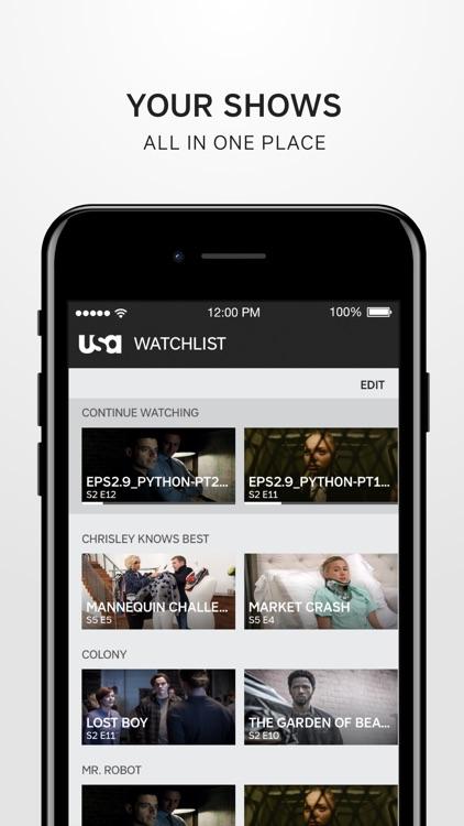 USA Network screenshot-4