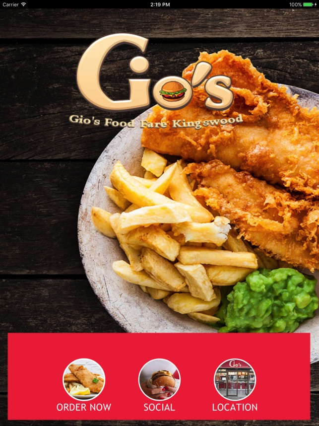 gio s food fare on the app store