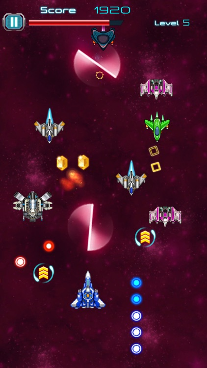 Galaxy Shooter Attack 2018 screenshot-1