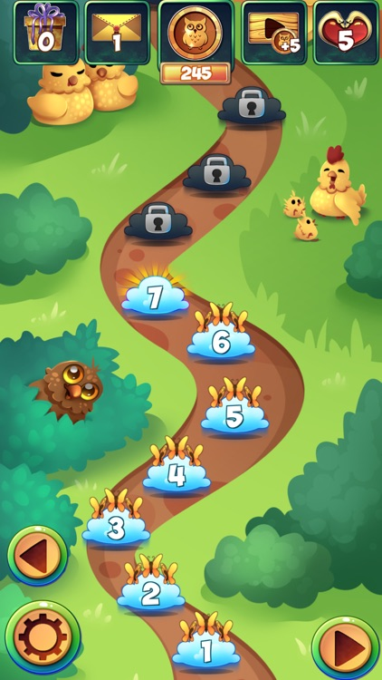 Birds 2: Free Match 3 Party Puzzle Game screenshot-3