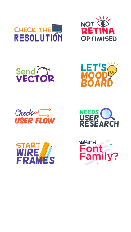 Design Feedback Sticker Pack screenshot-4