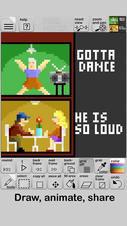 Pixel Master screenshot-3