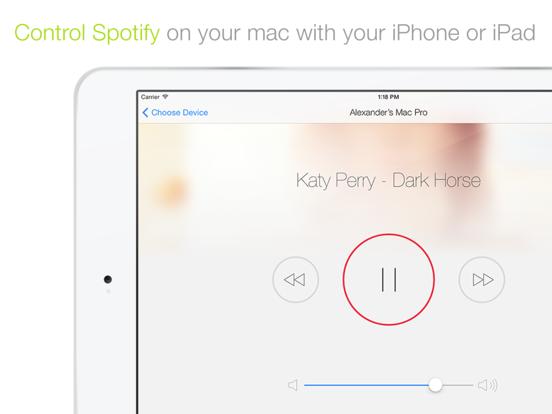 Spotmote screenshot