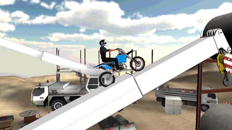 Dirt Motor-Bike Game: Stunt Challenge
