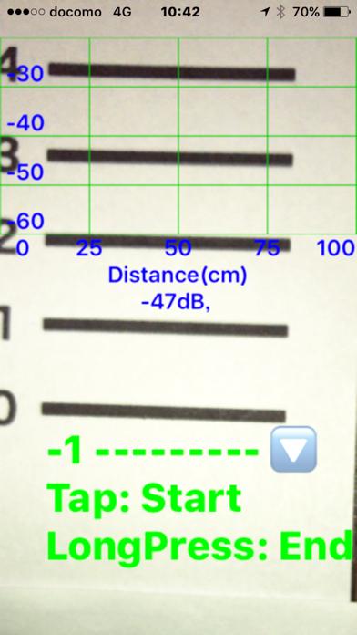 SoundPRuler, measurment of sound wave propagation
