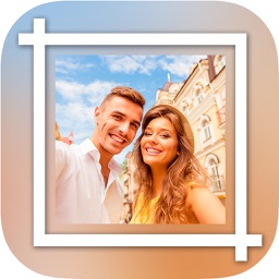 White frames for Insta - Square photo frame