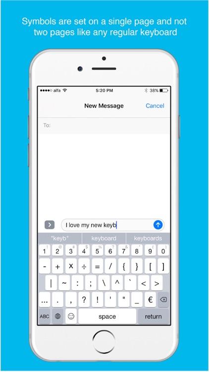 QuicKeyboard - Full Keyboard with emojis