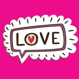 Love Emotion Stickers
