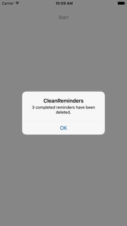 CleanReminders