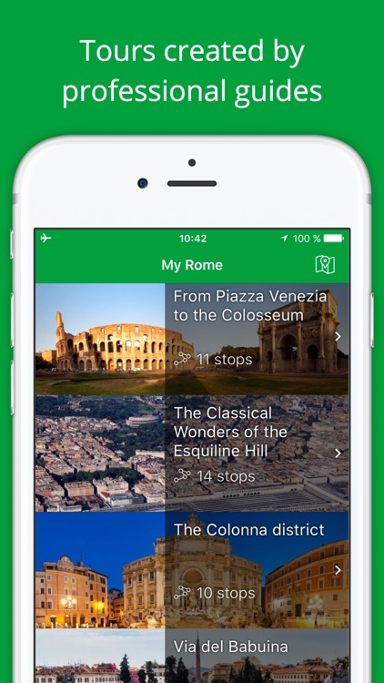 My Rome - Travel Guide with audio guide and map screenshot-0