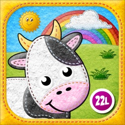 Toddler's Farm Animals sounds, Baby Animal Puzzles