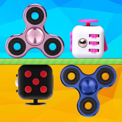 Spinner Cube - Fidget Spinner vs Fidget Cube