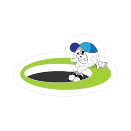 Olivera Golf Naughty Ball stickers for iMessage