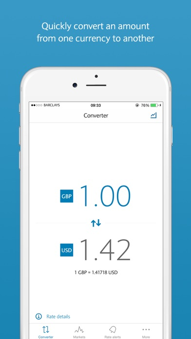 FX Currency powered by Barclays screenshot one