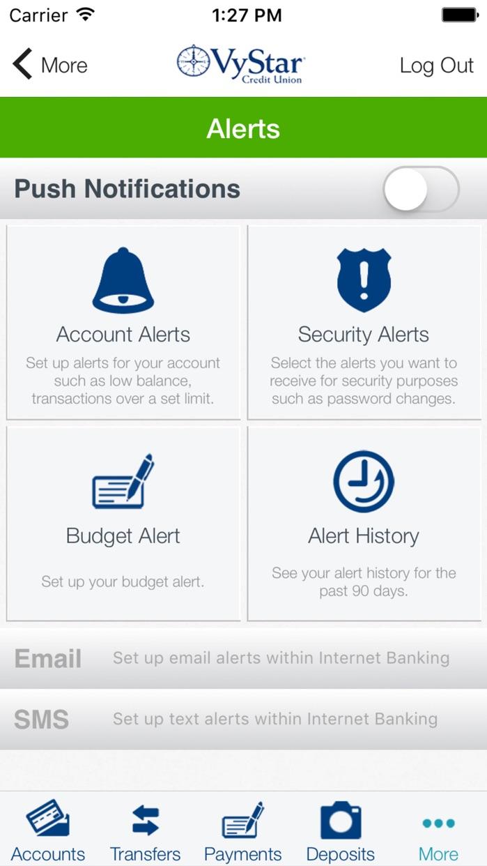 VyStar Mobile Banking Screenshot