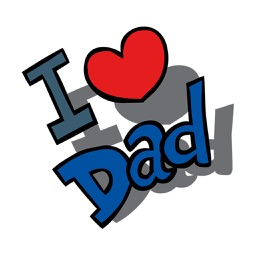 Fun Father's Day Sticker - Stickers for iMessage
