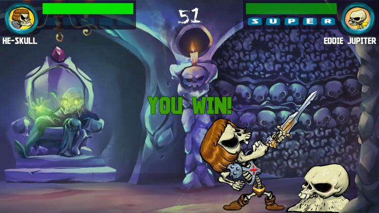 Old Skull Fighters: Bone-Chilling screenshot-4