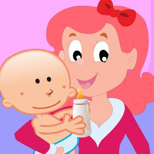 Feed & Care Emma - My Newborn Talking Baby Kid iOS App