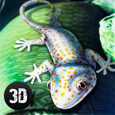 Activities of Gecko Lizard Survival Simulator 3D