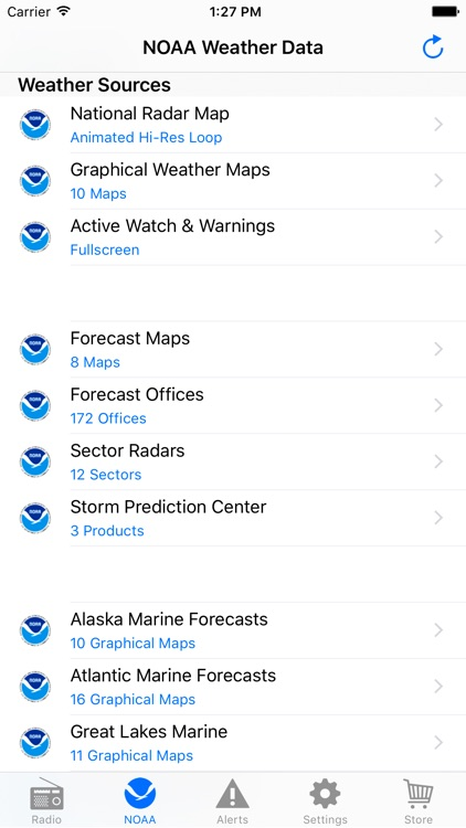 NOAA Weather Radio screenshot-4
