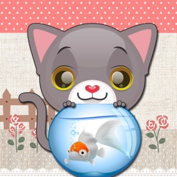 Cute Cat Stickers & Emoji