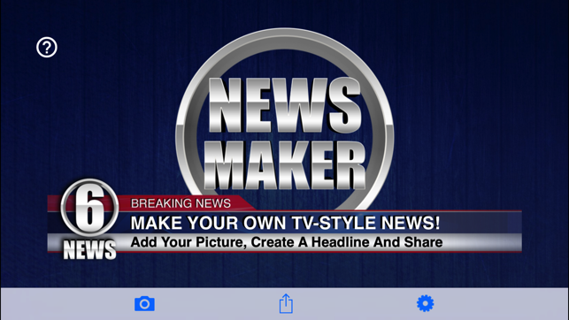 news maker create the news on the app store