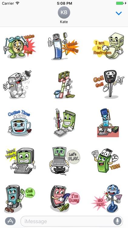 My Talking Things - Cute Emoji Stickers