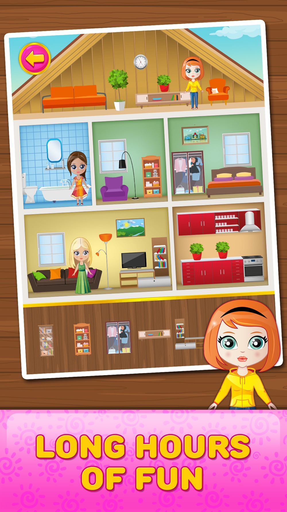 Doll House Decorating Game hack tool