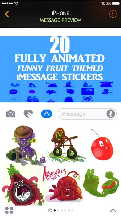 Animated Farcical Fruit