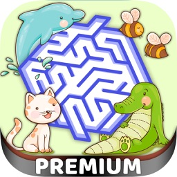 Classic Labyrinth Animal Game – Pro