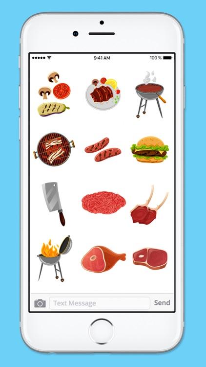 Let's BBQ Barbeque Grilling Sticker Pack screenshot-4
