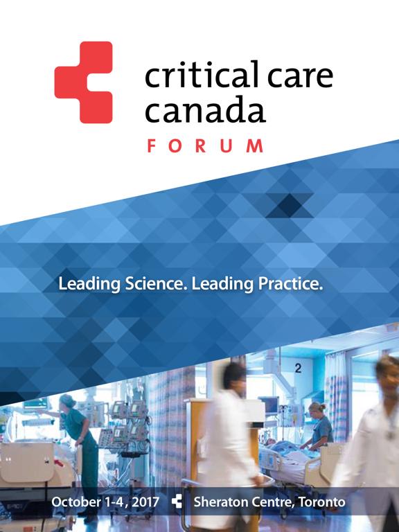 Critical Care Canada Forum2017 screenshot 3
