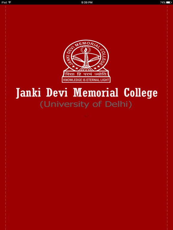 Janki Devi Memorial College-ipad-0