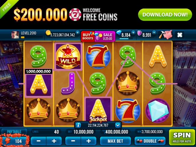 Fortune in Vegas Jackpots Slot Screenshot