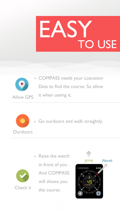 A Real COMPASS For Watch 2 Screenshot 2