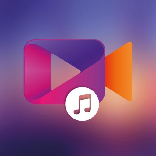 Добавить музыку в видео - Фоновый музыкальный реда