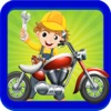 Trial Motor Bike Maker: Build & repair motorcycle