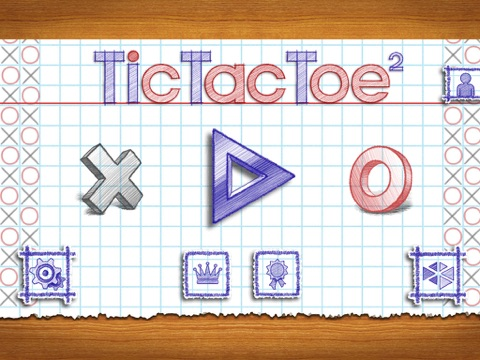 Крестики-нолики 2 Онлайн на iPad