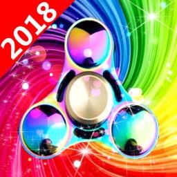 Colour Fidget Spinner Simulator 2018