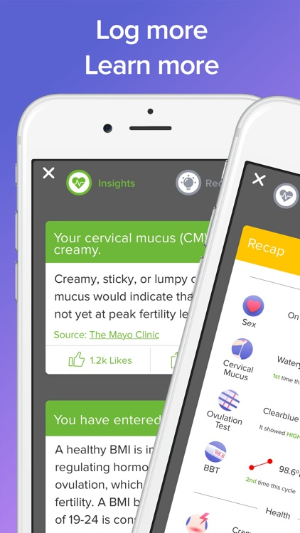 Glow Fertility, Period and Ovulation Tracker App