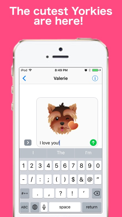 YorkieMojis - Emojis for Yorkie Lovers screenshot-0