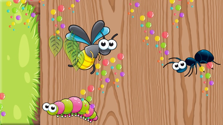 Insects Puzzles for Toddlers and Kids screenshot-4