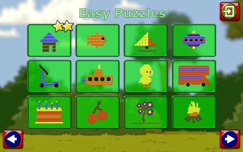 Kids Mosaic Art Shape and Color Picture Puzzles | App Price