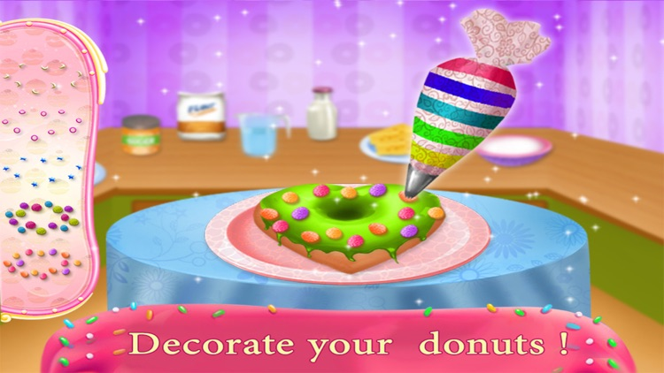 Donut Maker Cooking Restaurant: Cooking Games screenshot-3