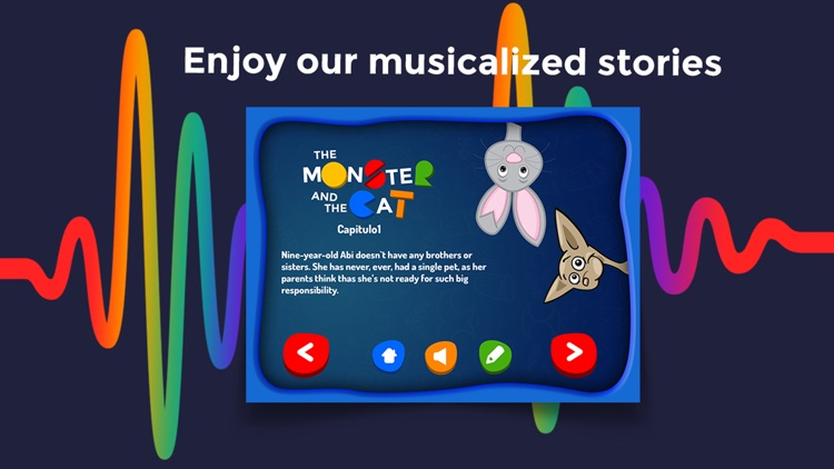Monster and Cat - Interactive story Play Book game screenshot-3