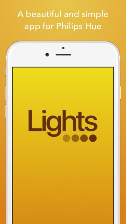 Lights for Philips Hue Lights - Scene Lighting app screenshot-0