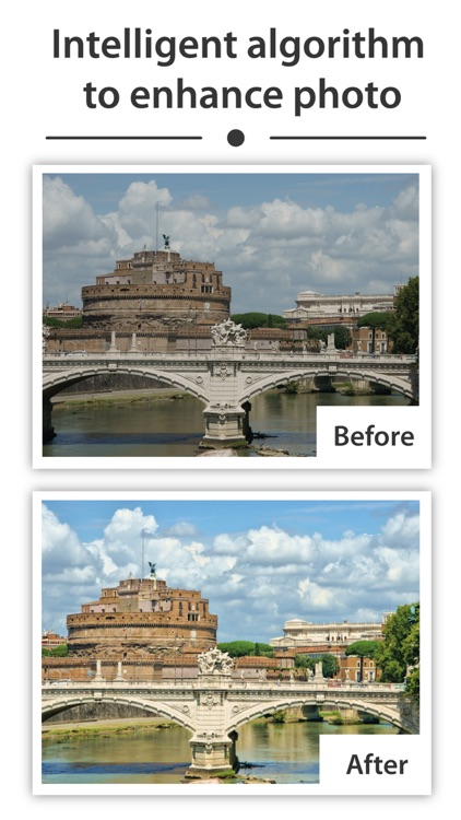 Enhancy - auto fix photo issues for your gallery